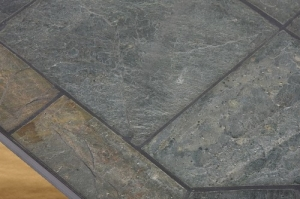 Diamond Flatwall Natural Silver Slate